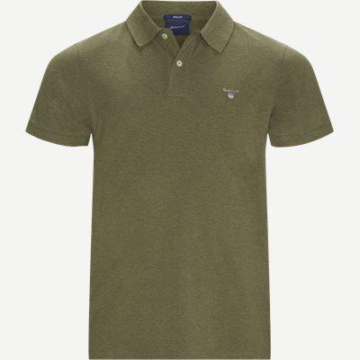 The original Pique SS Rugger Polo T-shirt Regular | The original Pique SS Rugger Polo T-shirt | Grøn